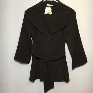 Calvin Klein Black Jacket Size 4